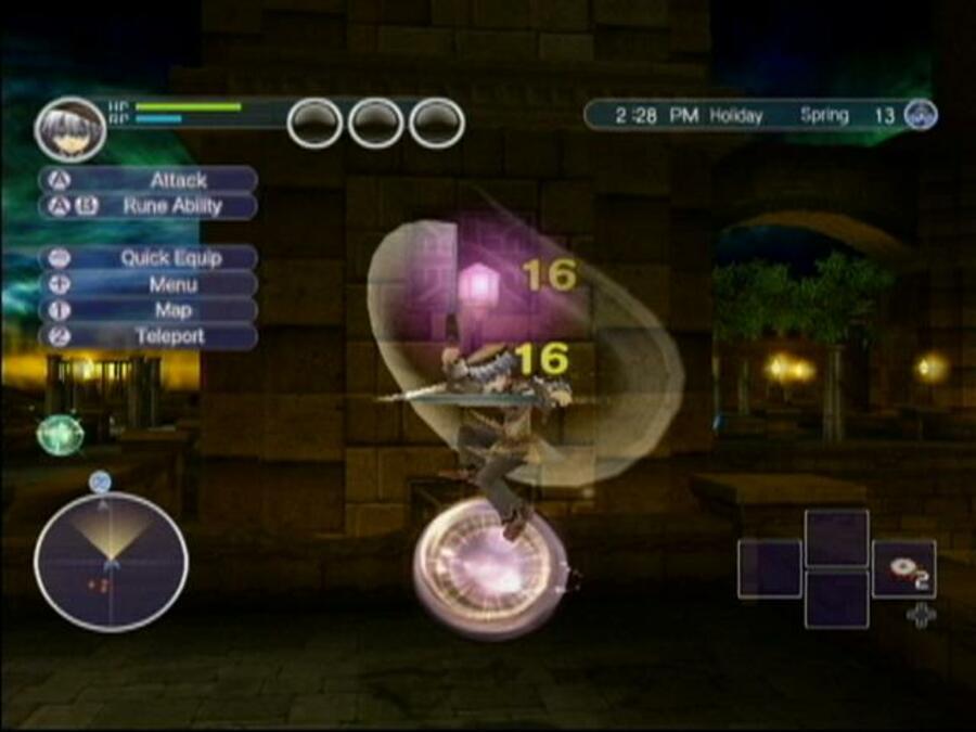 Rune Factory: Tides of Destiny Screenshot