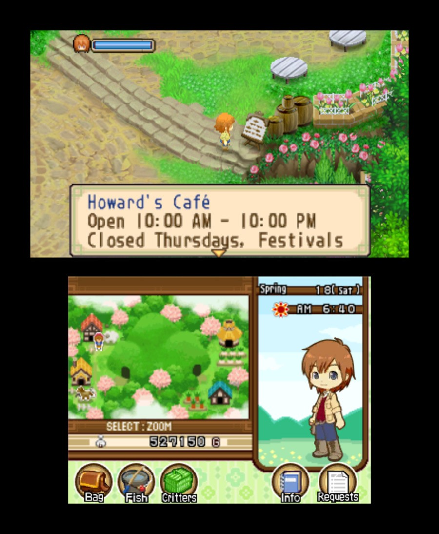 Harvest Moon 3D: The Tale of Two Towns Screenshot