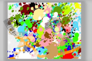 Paint Splash Screenshot
