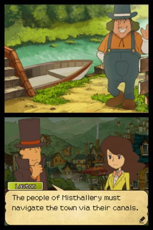 Professor Layton and the Last Specter Review - Screenshot 1 of 3