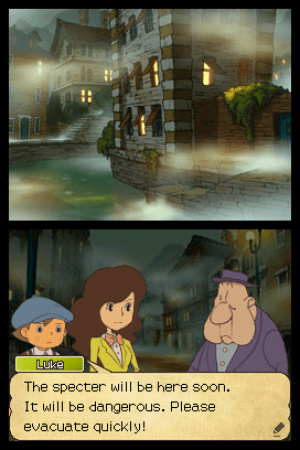 Professor Layton and the Last Specter Review - Screenshot 2 of 3