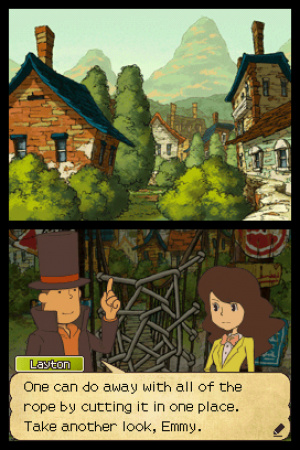 Professor Layton and the Last Specter Review - Screenshot 3 of 3