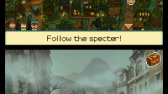 Professor Layton and the Last Specter Screenshot