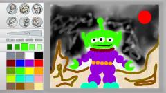 Paint Splash Screenshot
