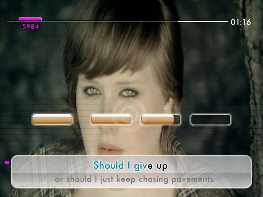 We Sing: UK Hits Review - Screenshot 2 of 3