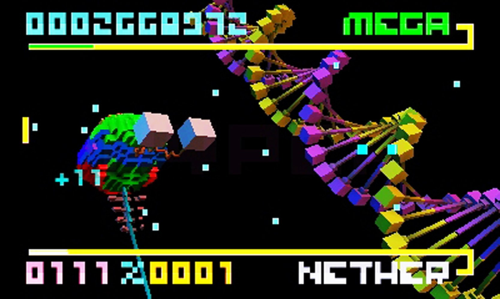 BIT.TRIP SAGA Screenshot
