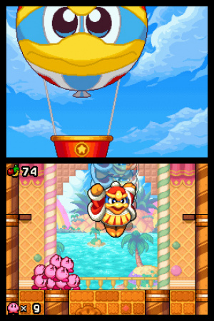 Kirby Mass Attack Review - Screenshot 4 of 4