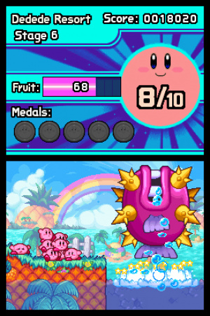 Kirby Mass Attack Review - Screenshot 3 of 4