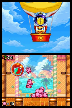 Kirby Mass Attack Review - Screenshot 2 of 4