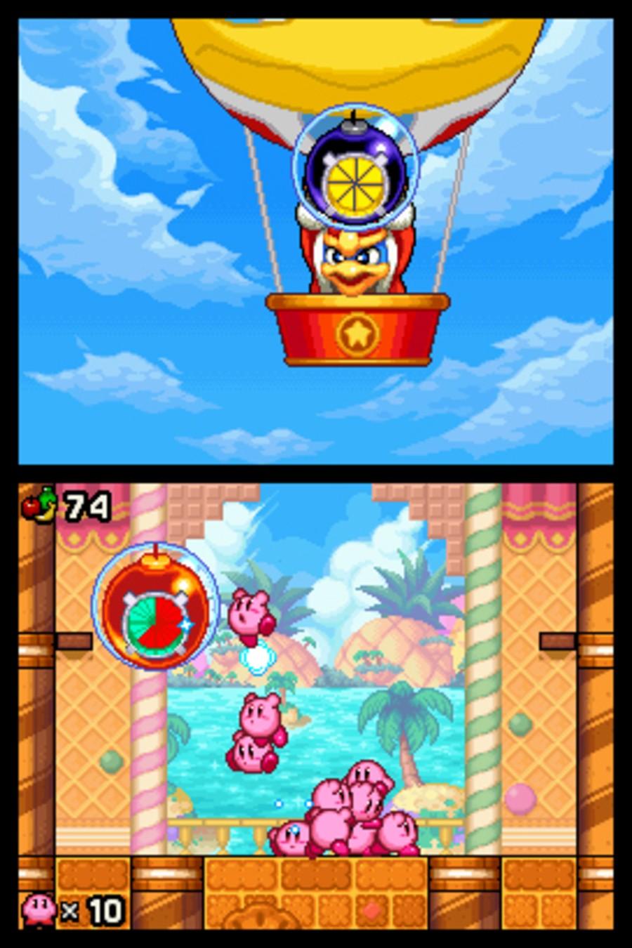 Kirby Mass Attack Screenshot