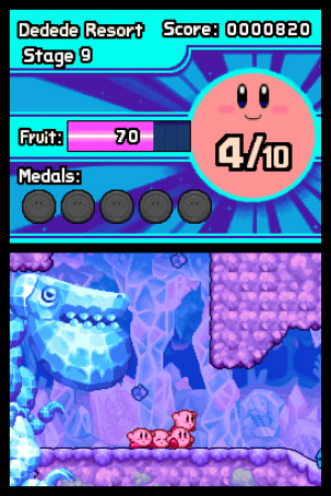 Kirby Mass Attack Review - Screenshot 3 of 3