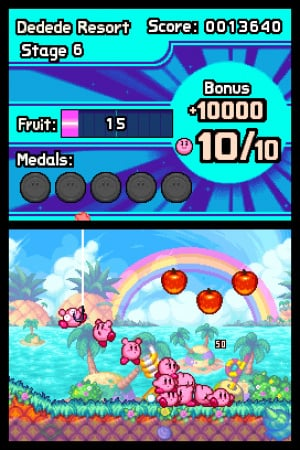 Kirby Mass Attack Review - Screenshot 2 of 3