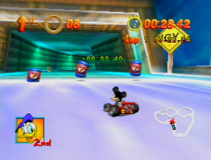 Mickey's Speedway USA Review - Screenshot 2 of 4