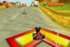 Mickey's Speedway USA Screenshot