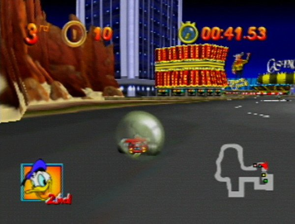 Mickey's Speedway USA Screenshot