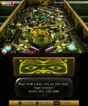 Zen Pinball 3D Review - Screenshot 3 of 4