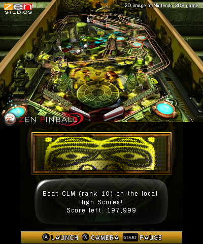 Zen Pinball 3D Screenshot