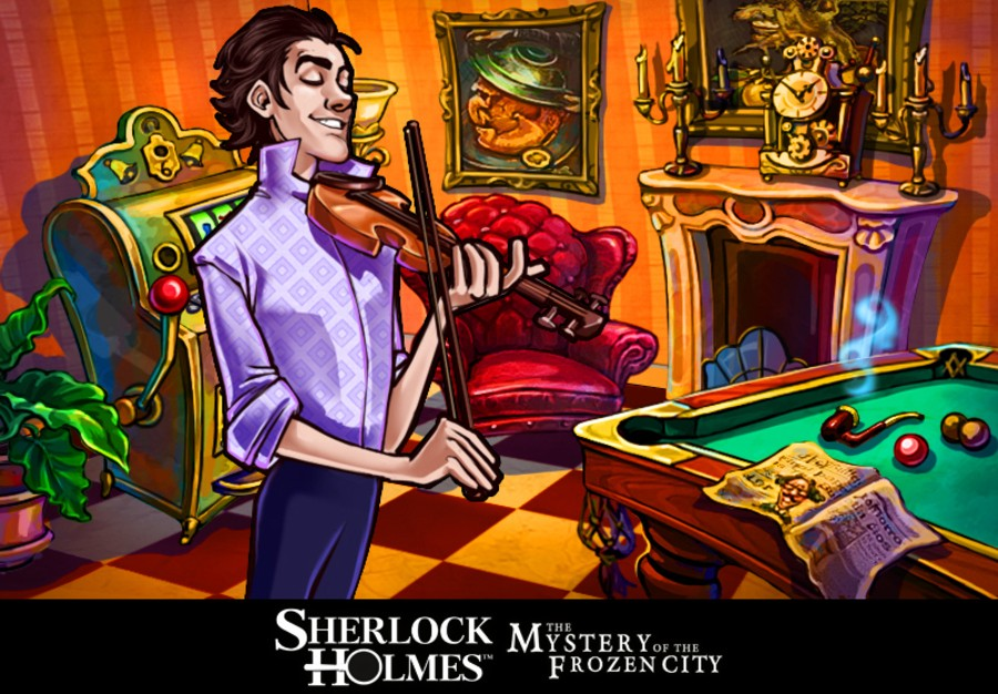 Sherlock Holmes and The Mystery of the Frozen City Screenshot