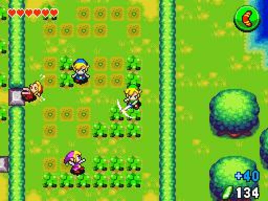 The Legend of Zelda: Four Swords Anniversary Edition Screenshot