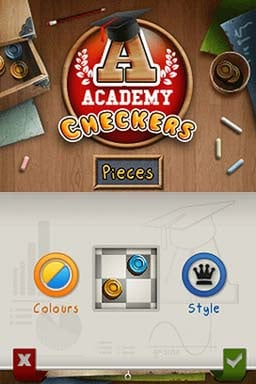 Academy: Checkers Screenshot