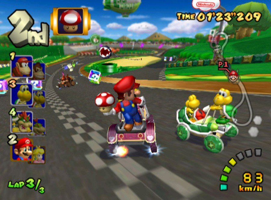Mario Kart Double Dash Gcn Gamecube Screenshots