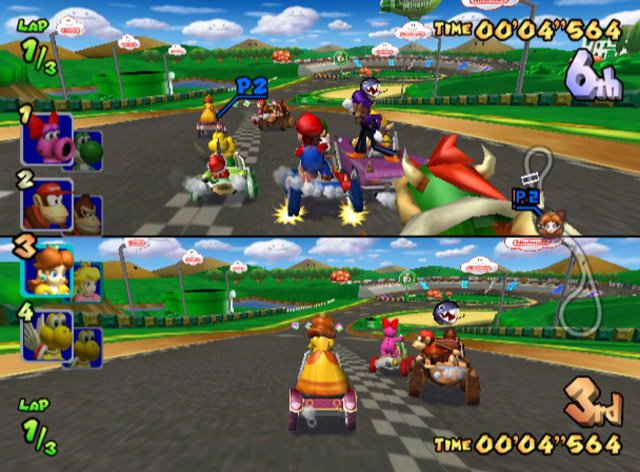 Mario Kart Double Dash Gcn Gamecube Screenshots