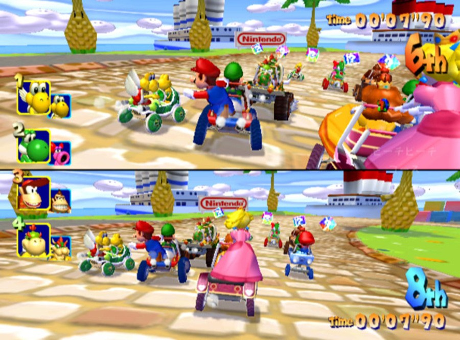 Mario Kart: Double Dash!! Screenshot