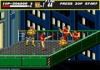 Streets of Rage (MD / Mega Drive) News, Reviews, Trailer & Screenshots