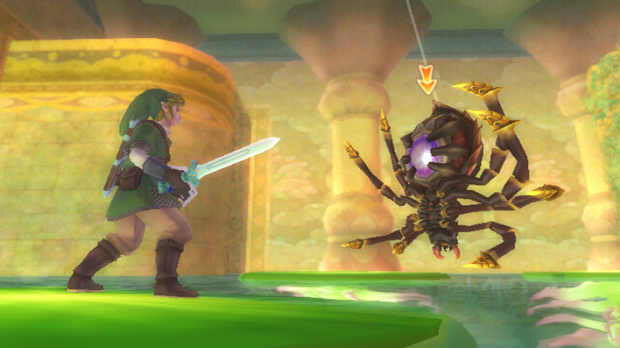 The Legend of Zelda: Skyward Sword Review - Screenshot 2 of 5