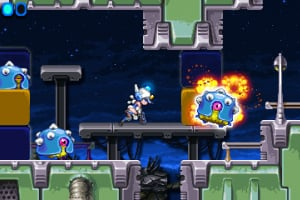 Mighty Switch Force! Screenshot