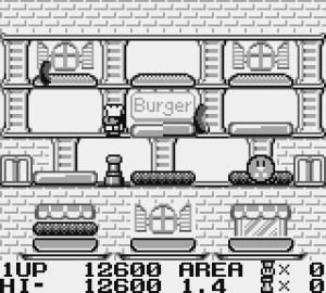 BurgerTime Deluxe Review - Screenshot 1 of 3