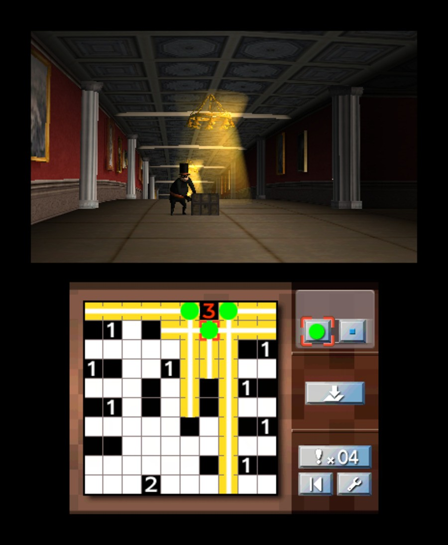 Nikoli's Pencil Puzzle Screenshot