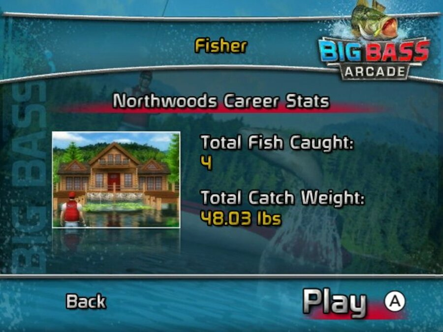 Big Bass Arcade Screenshot