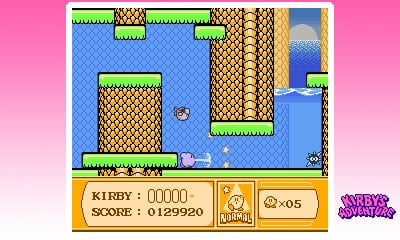 3D Classics: Kirby's Adventure Screenshot