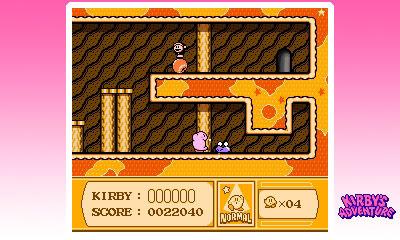 3D Classics: Kirby's Adventure Screenshot