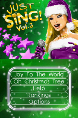 Just Sing! Christmas Vol. 3 Review - Screenshot 1 of 2