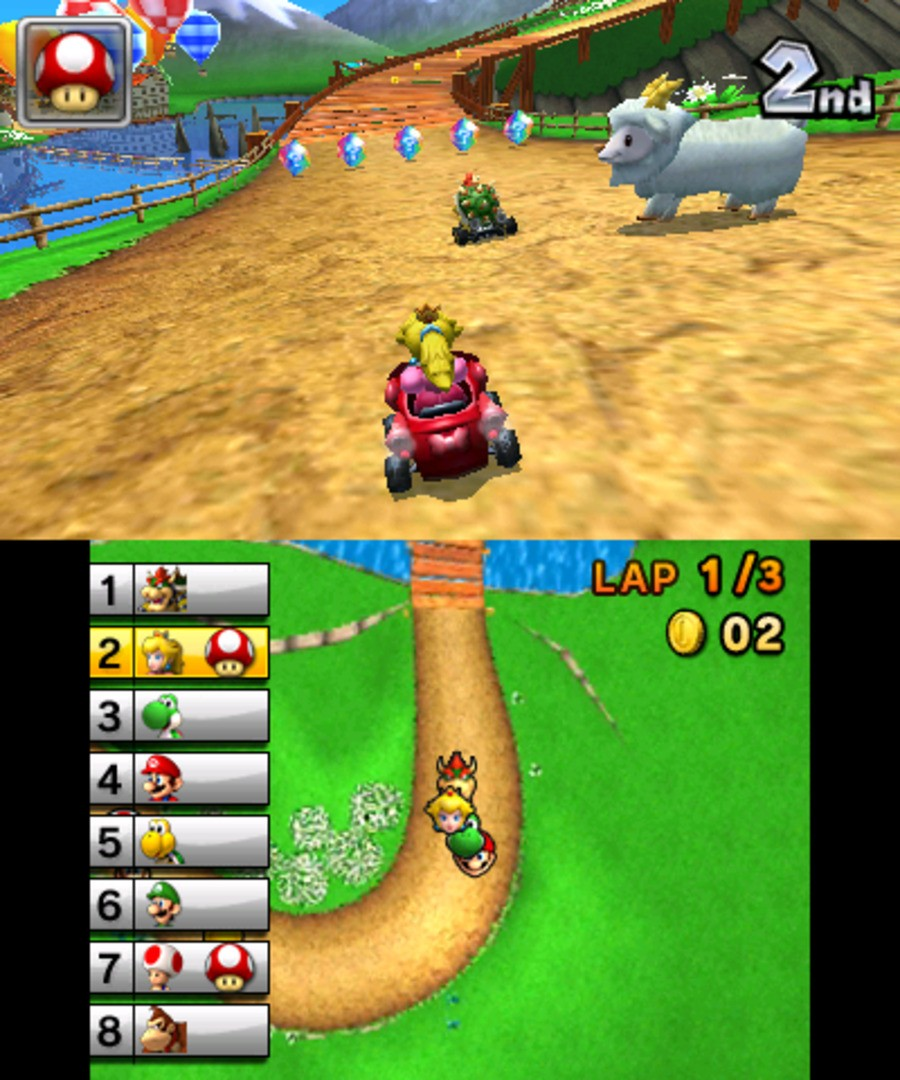 Mario Kart 7 Screenshot