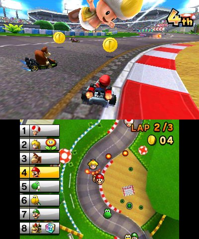Image result for mario kart 7 screenshot