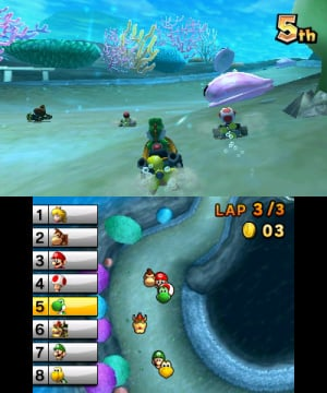 Mario Kart 7 Review - Screenshot 3 of 5