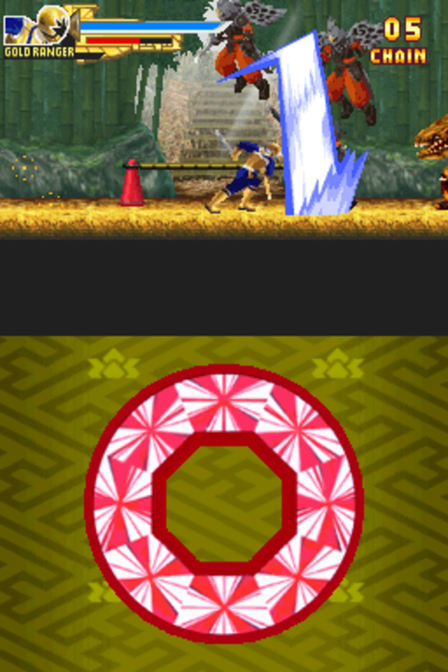 Power Rangers Samurai Screenshot