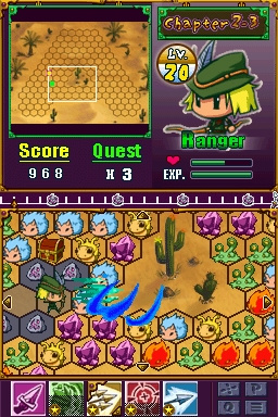 3 Heroes - Crystal Soul Screenshot