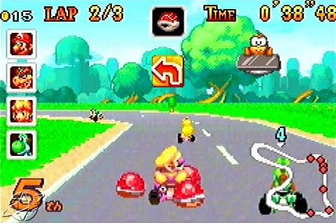 Mario Kart Super Circuit Screenshot
