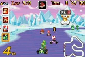 Mario Kart Super Circuit Screenshot