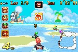 Mario Kart Super Circuit Review - Screenshot 1 of 3
