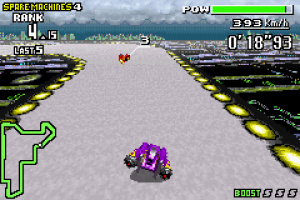 F-Zero Maximum Velocity Review - Screenshot 1 of 5