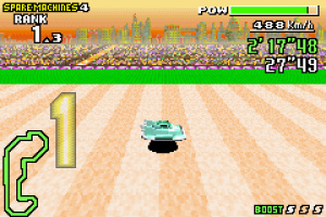 F-Zero Maximum Velocity Review - Screenshot 1 of 5