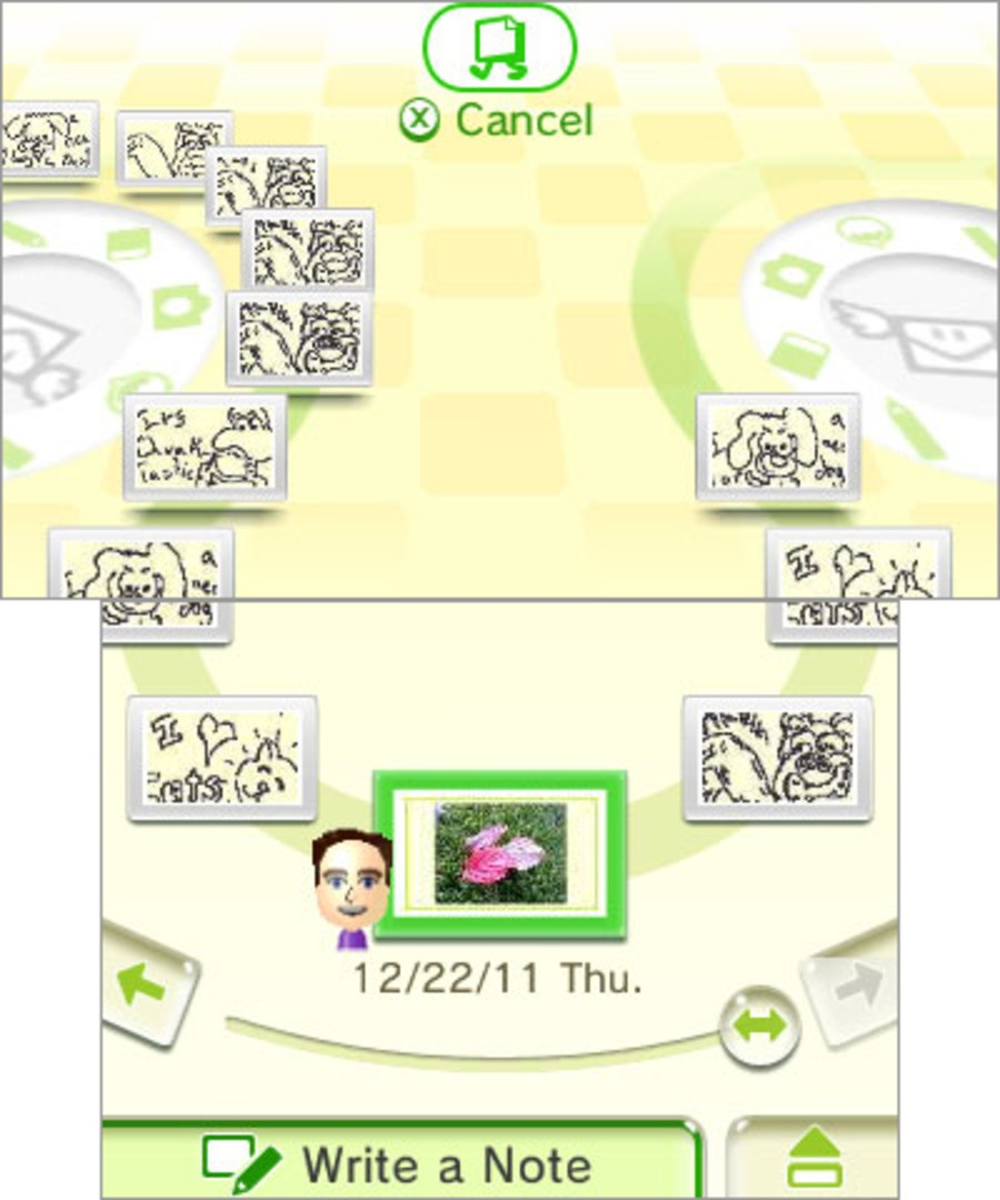 Nintendo Letter Box Screenshot
