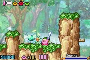 Kirby & The Amazing Mirror Screenshot