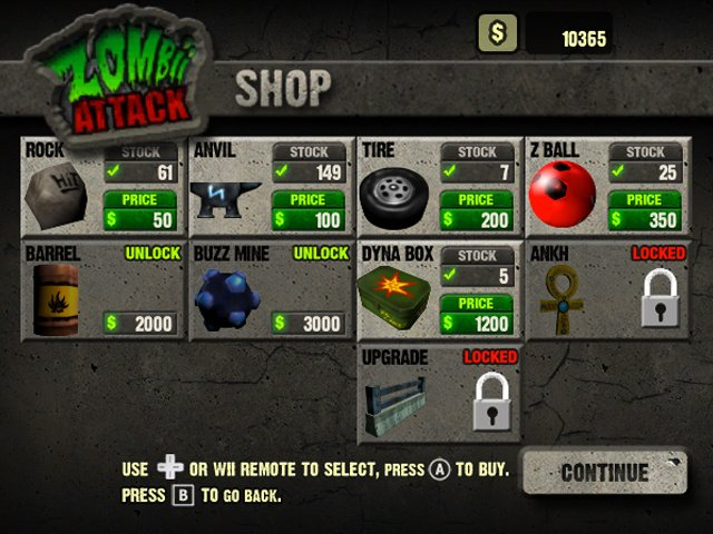 Zombii Attack Screenshot