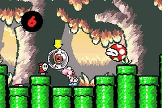 Super Mario Advance 3: Yoshi's Island Screenshot